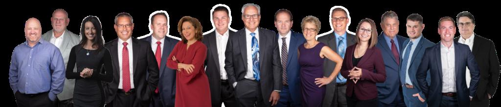 Group photo of all Conte Wealth Advisor Financial Advisors.